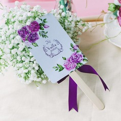 Personalized Rectangular Paper Table Number Cards