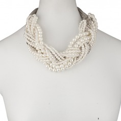Elegant Imitation Pearls Ladies' Necklaces
