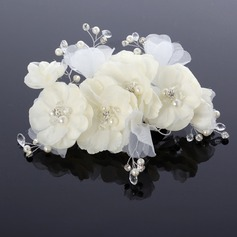 Beautiful Rhinestone Chiffon Headbands