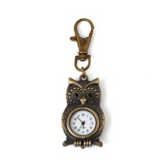 Lovely Owl Shaped Alloy Keychains