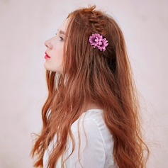 Pink Artificial Silk Headdress Flower(Sold in a single piece)