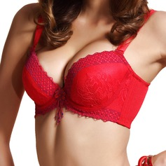 Chinlon Full Coverage Detachable Straps Dramatic Lift Sexy Classic Bra