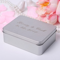 Personalized Name And Date Metal Favor Tin (Set of 24)