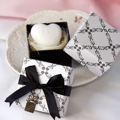 Heart Shaped Bath & Soaps With Ribbons