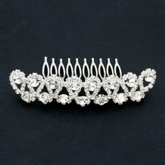 Austrian Drilling Rhinestone Alloy Hair Combs