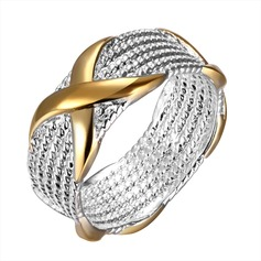 Fashional Silver Plated Unisex Rings