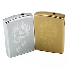 Personalized Dragon design Stainless Steel Electronic Lighter
