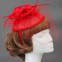 Elegant/Charming Net/Cotton Fascinators