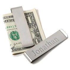 Personalized Attractive Stainless Steel Money Clips