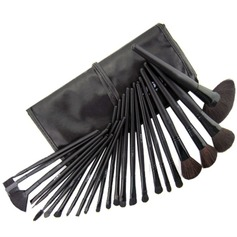 24 Pcs Black Makeup Brush set