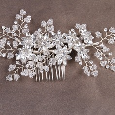 Glamourous Crystal/Alloy Combs & Barrettes