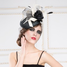 Eye-catching Net Yarn/Feather/Cambric Fascinators