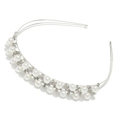 Lovely Alloy/Pearl Headbands
