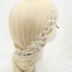 Beautiful Crystal/Alloy Hairpins (Set of 6)