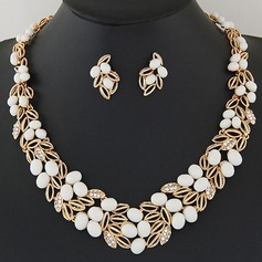 Beautiful Alloy Resin With Rhinestone Ladies' Jewelry Sets