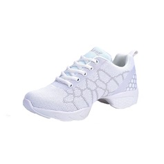 Women's Leatherette Sneakers Practice Dance Shoes