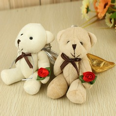 Cute Bear Favor Bags With Ribbons (Set of 6 Pairs)