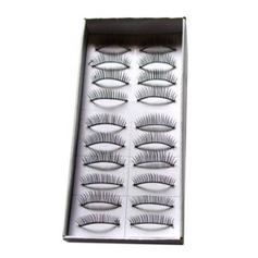 Fashion Lashes 06# - Very Natural Looking 10 Pairs Per Box (046005734)