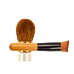 Blonde Powder Brush Add Oblique Head Foundation Brush