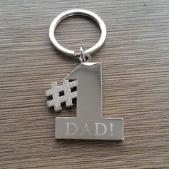 Personalized Unique Zinc Alloy Keychains