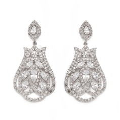 Gorgeous Zircon Ladies' Earrings