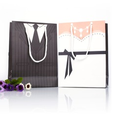 Tuxedo & Gown Favor Bags (Set of 12)