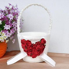 Flower Basket With Rose Heart(102018057)