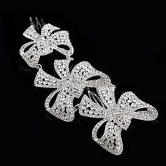 Beautiful/Bowknot Rhinestone/Alloy Combs & Barrettes
