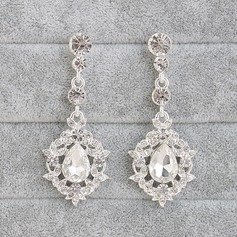 Gorgeous Alloy With Rhinestone Women's/Ladies' Earrings