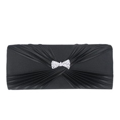 Fashional Satin With Crystal/ Rhinestone Clutches/Evening Handbags