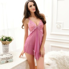Chinlon/Tulle Feminine/Fashion Sleepwear Sets