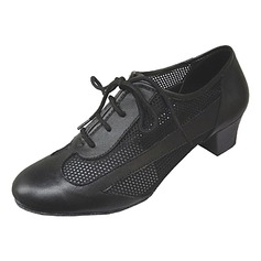 Fashion Womens Leather And Fabric Upper Jazz Dance Shoes More Colors Women s Real Leather Heels