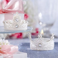 Crown Candle Favor(Set of 4)(096017633)