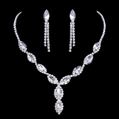 Elegant Alloy/Rhinestones Ladies' Jewelry Sets (011075035)