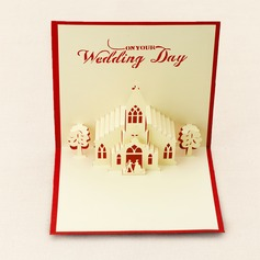 Three-dimensional Church Greeting Cards