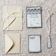 Personalized Vintage Style Flat Card Invitation Cards