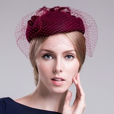 Ladies' Glamourous Wool With Fascinators
