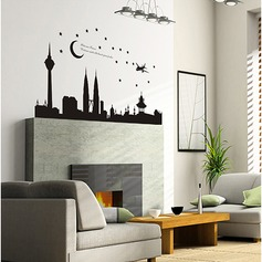 Wonderful Night PVC Wall Stickers