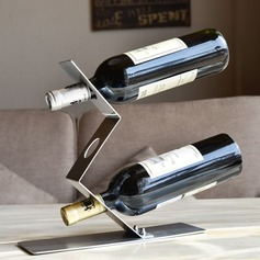 Creative Stainless Iron Bottle Holder / Wine Rack
