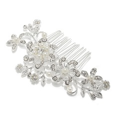 Gorgeous Rhinestone/Alloy Combs & Barrettes