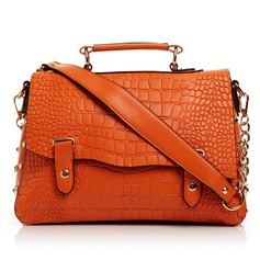 Fashional PU With Metal Shoulder Bags/Top Handle Bags