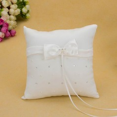 Ring Pillow With Sash Bow