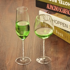 Simple Glass Wine Cup
