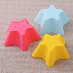 Star Design Silicone Cake Mould