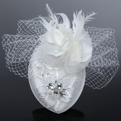 Glamourous Artificial Silk/Net Yarn Fascinators