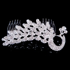 Fashional Alloy/Rhinestones Ladies' Hair Jewelry