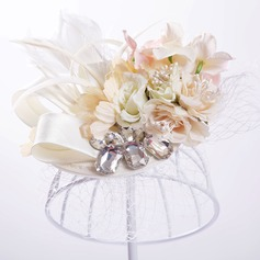 Ladies Pretty Artificial Silk/Tulle Hats