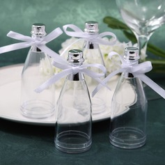 Classic Jars and Bottles With Ribbons (Set of 12)
