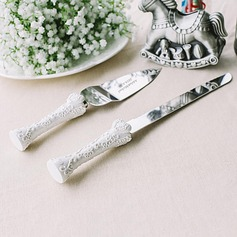 Personalized Stainless Steel/Resin Serving Sets