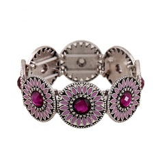 Beautiful Alloy Acrylic With Acrylic Ladies' Fashion Bracelets